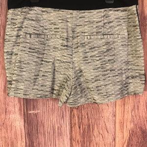 LOFT Shorts - Ann Taylor Loft Black & White Shorts